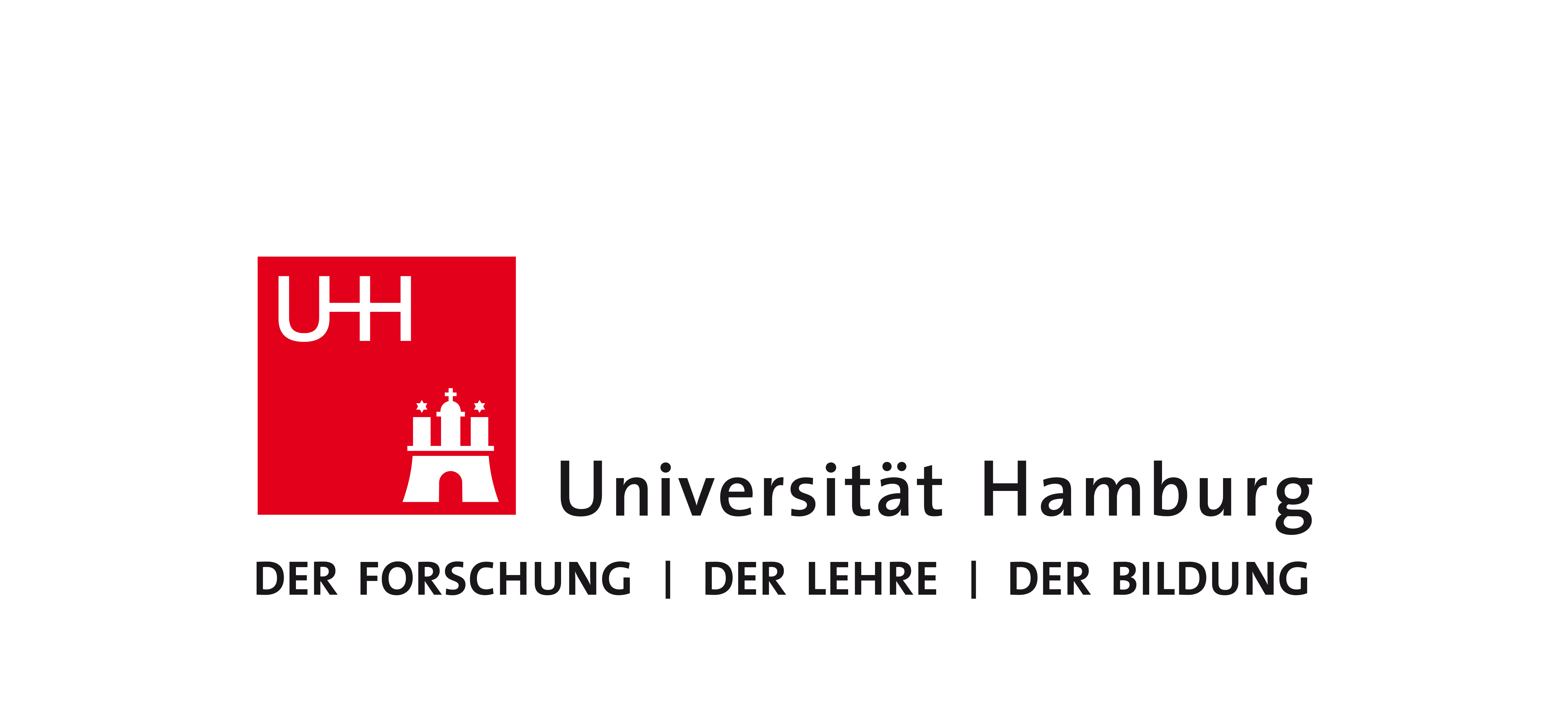Logo Corporate Design Universität Hamburg